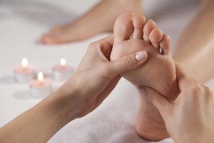 Duft und Massage